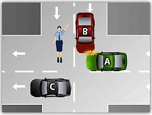 kavşaklarda trafik kazası ceza puanı